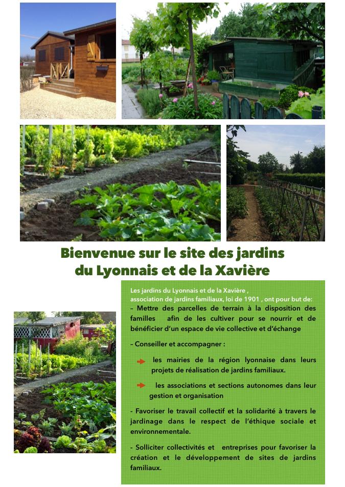 Présentation des jardins du Lyonnais